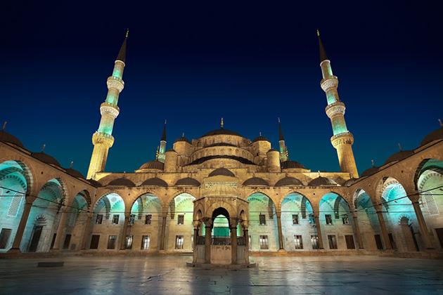 Masjid Biru, Istambul