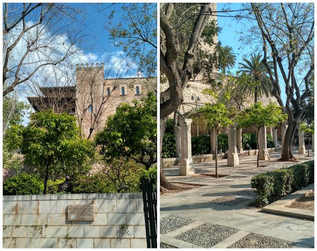 park w okolicach katedry Palma, co zobaczyć?