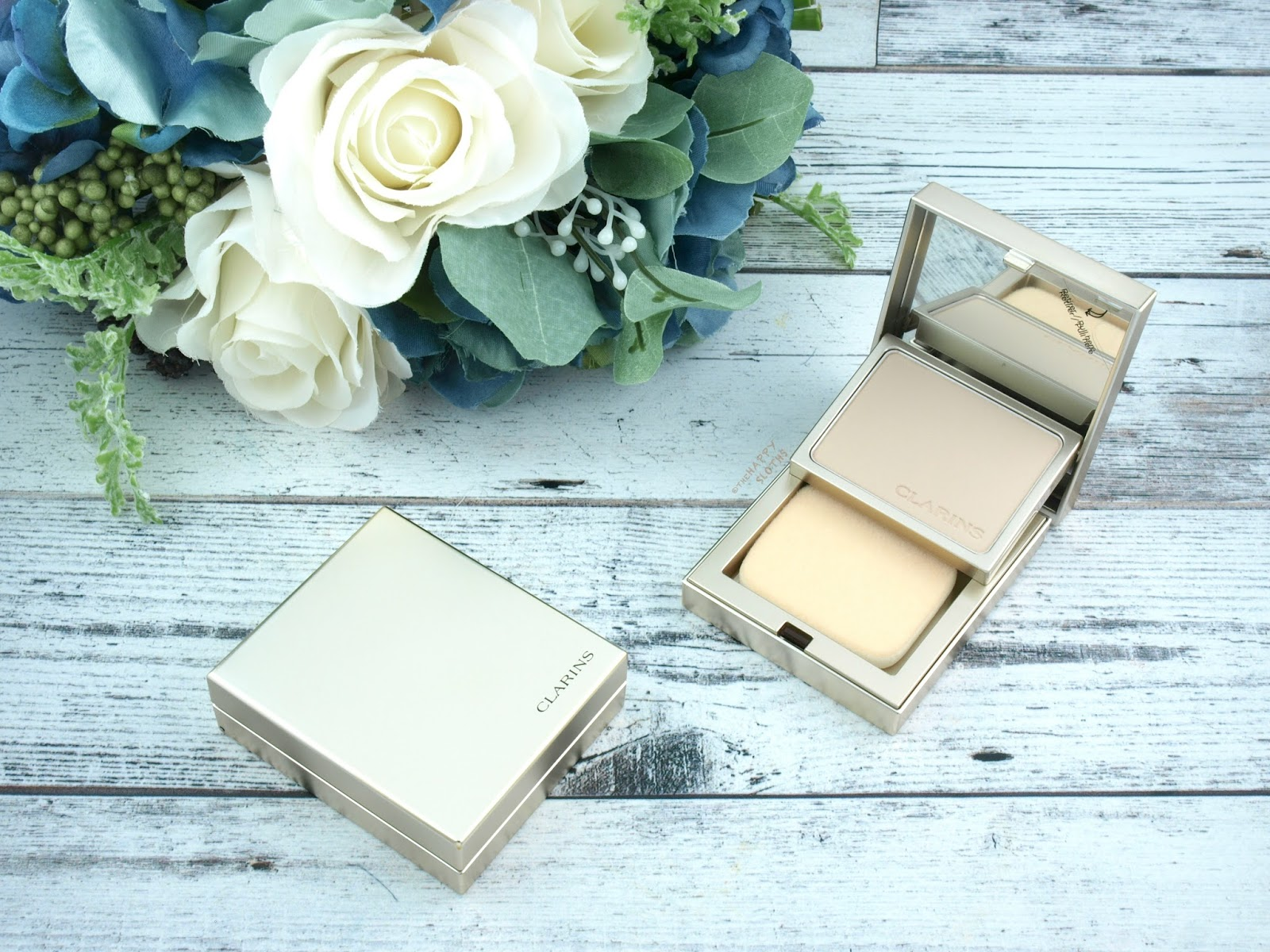Clarins Everlasting+ Compact Foundation: Review and Swatches