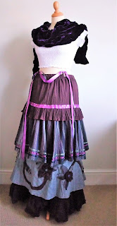 Victoriana tiered skirty by karen vallerius