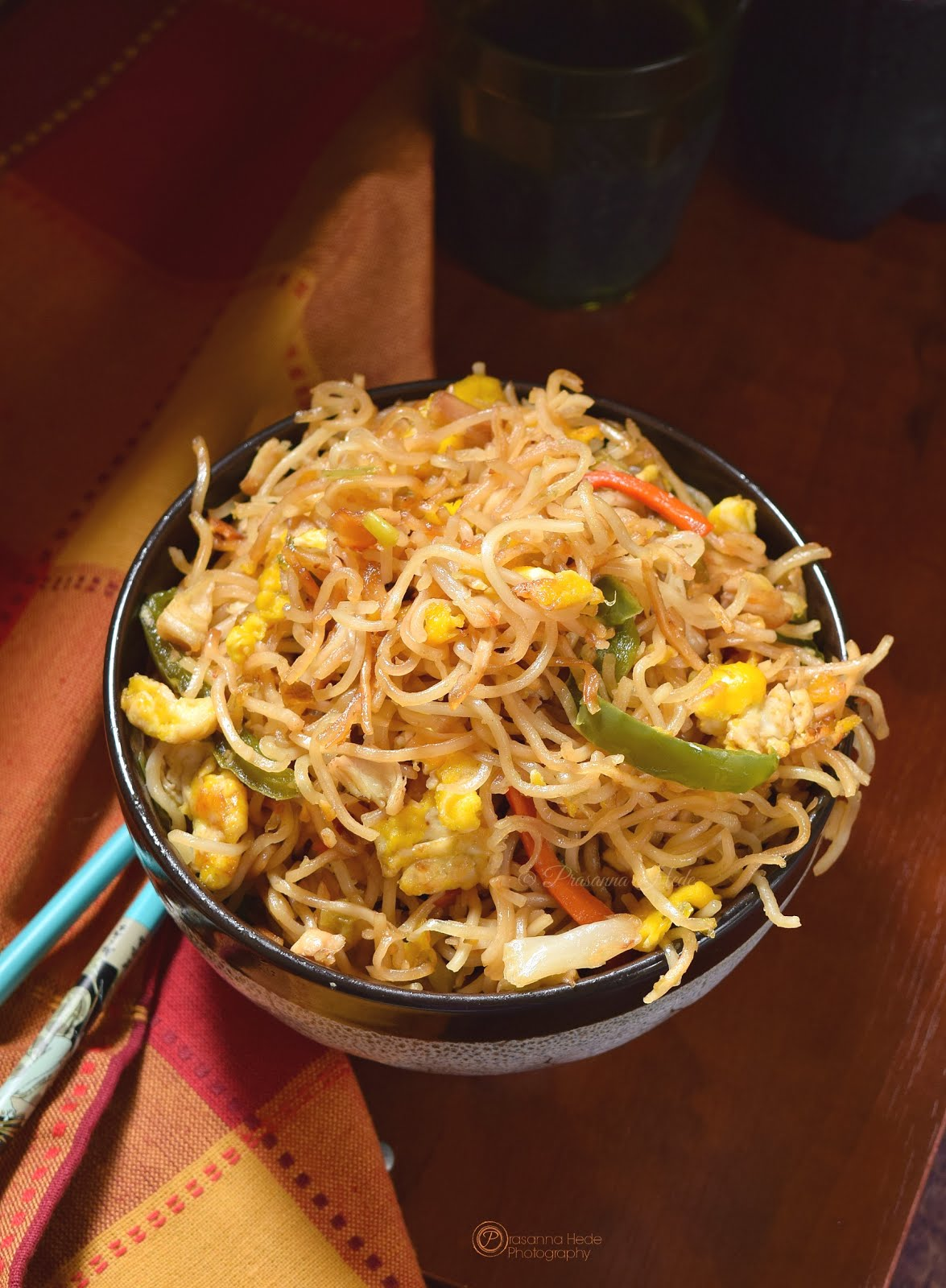 Crispy pan fried noodles