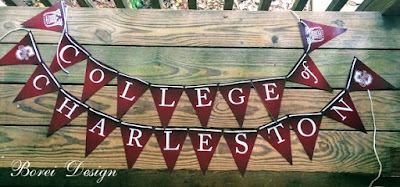 how-to-make-college-of-charleston-party-banner-supplies-pennant-decor