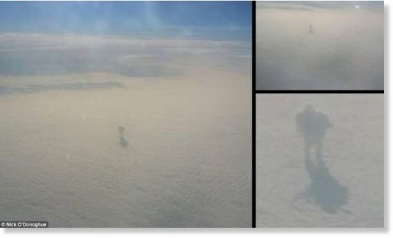 Raksasa Di Awan, Cahaya Aneh Dan Objek Bersayap Di Langit?