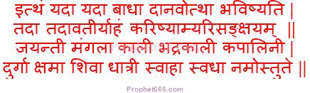 Durga Saptashati Mantra Talisman for House