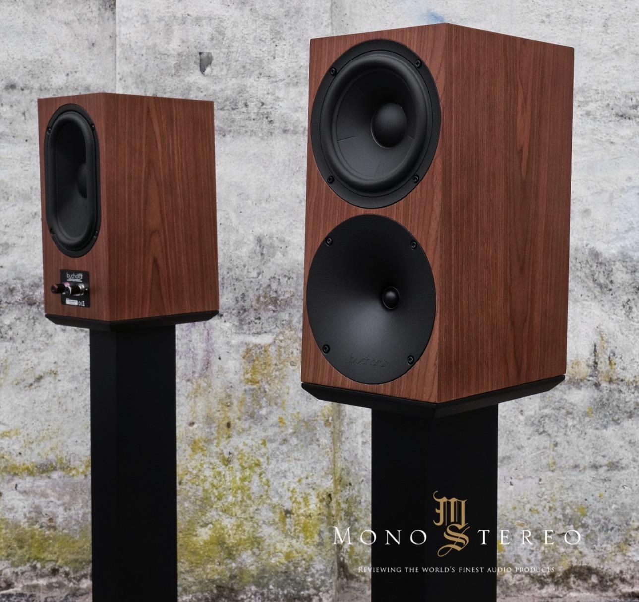 Mono and Stereo High-End Audio Magazine: NEW BUCHARDT AUDIO S400
