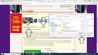 Cara Cepat Merubah file pdf ke Word Secara On-line