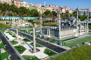 Miniatürk, Mezquita Azul o de Sultanahmed y el  Hipódromo.