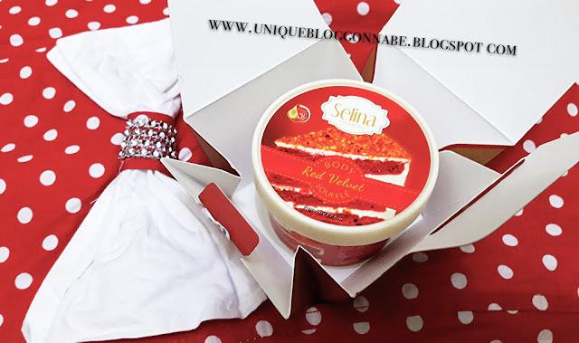 Selina body souffle Red velvet 3