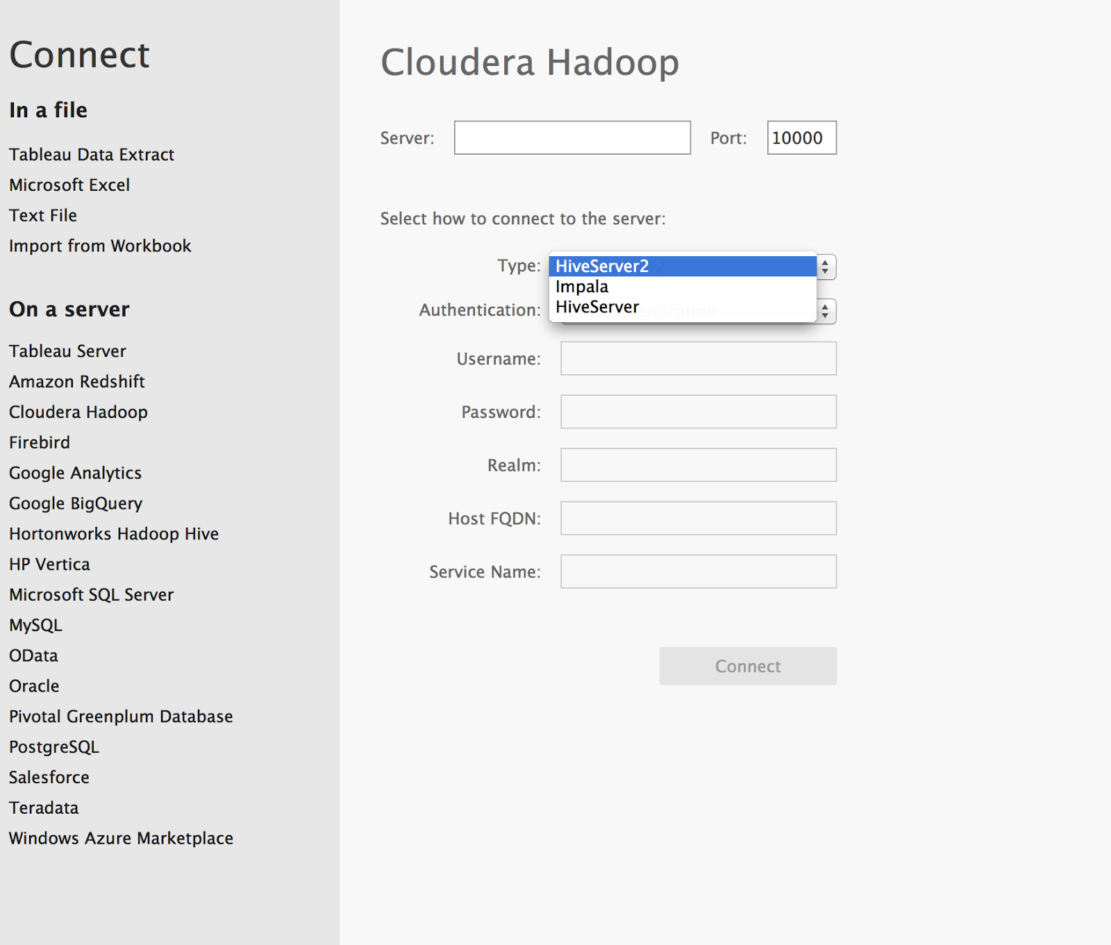 Techbi Tableau Software Cloudera Hadoop