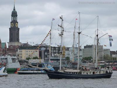 Hafengeburtstag, Hamburg, Skyline, Hafen, Michel, Segelschiff