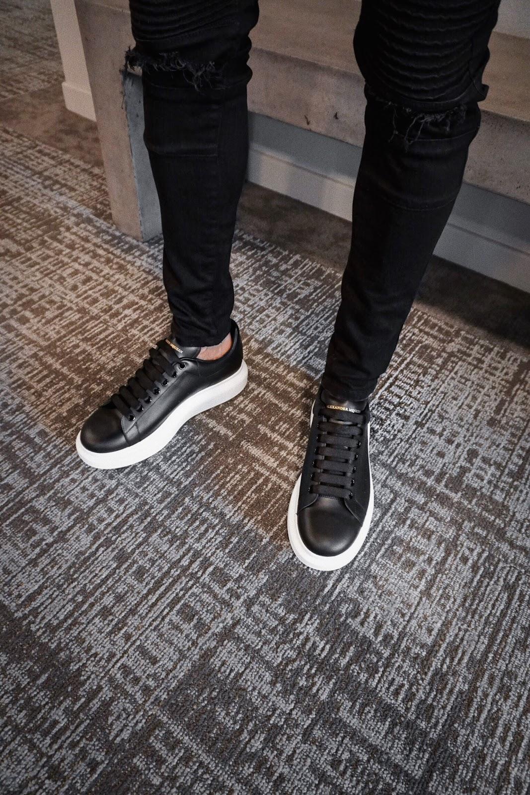 alexander mcqueen oversized sneaker mcqueen oversized shoe men mens fashion