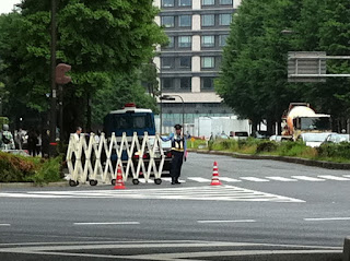 Police security Tokyo