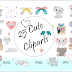 Cute Elephant Clipart Collection