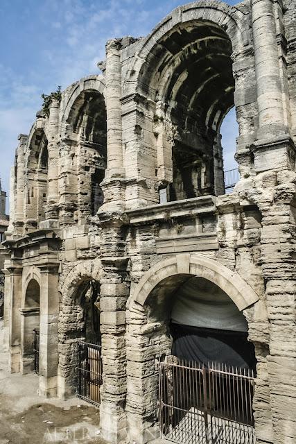 El anfiteatro de Arelate en Arles