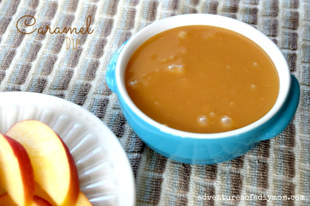 Easy Caramel Dip Recipe