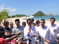 Presiden Jokowi: Pembangunan Sirkuit Mandalika Paling Lambar Januari 2020