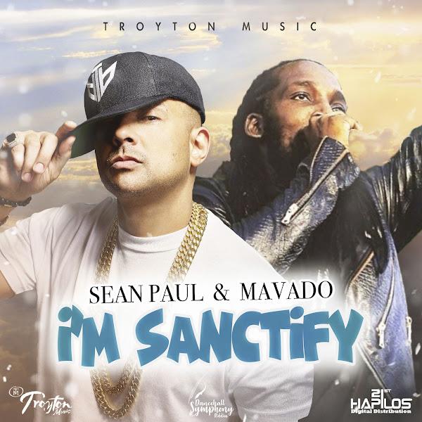 Sean Paul & Mavado - I'm Sanctify - Single  Cover