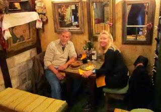 Wayne Pat dunlap Restaurant Sarajevo Bosnia