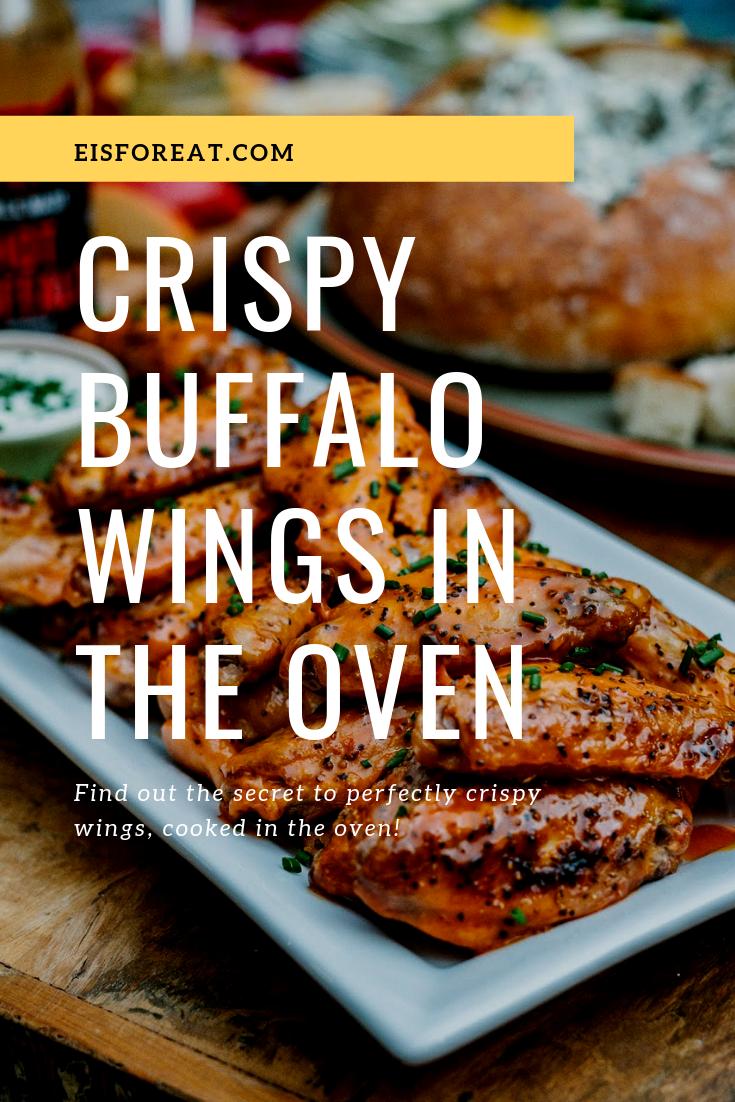 Crispy Buffalo Wings in the Oven