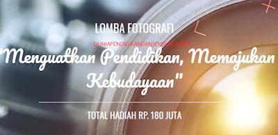 LOMBA FOTOGRAFI KEMDIKBUD TAHUN 2019