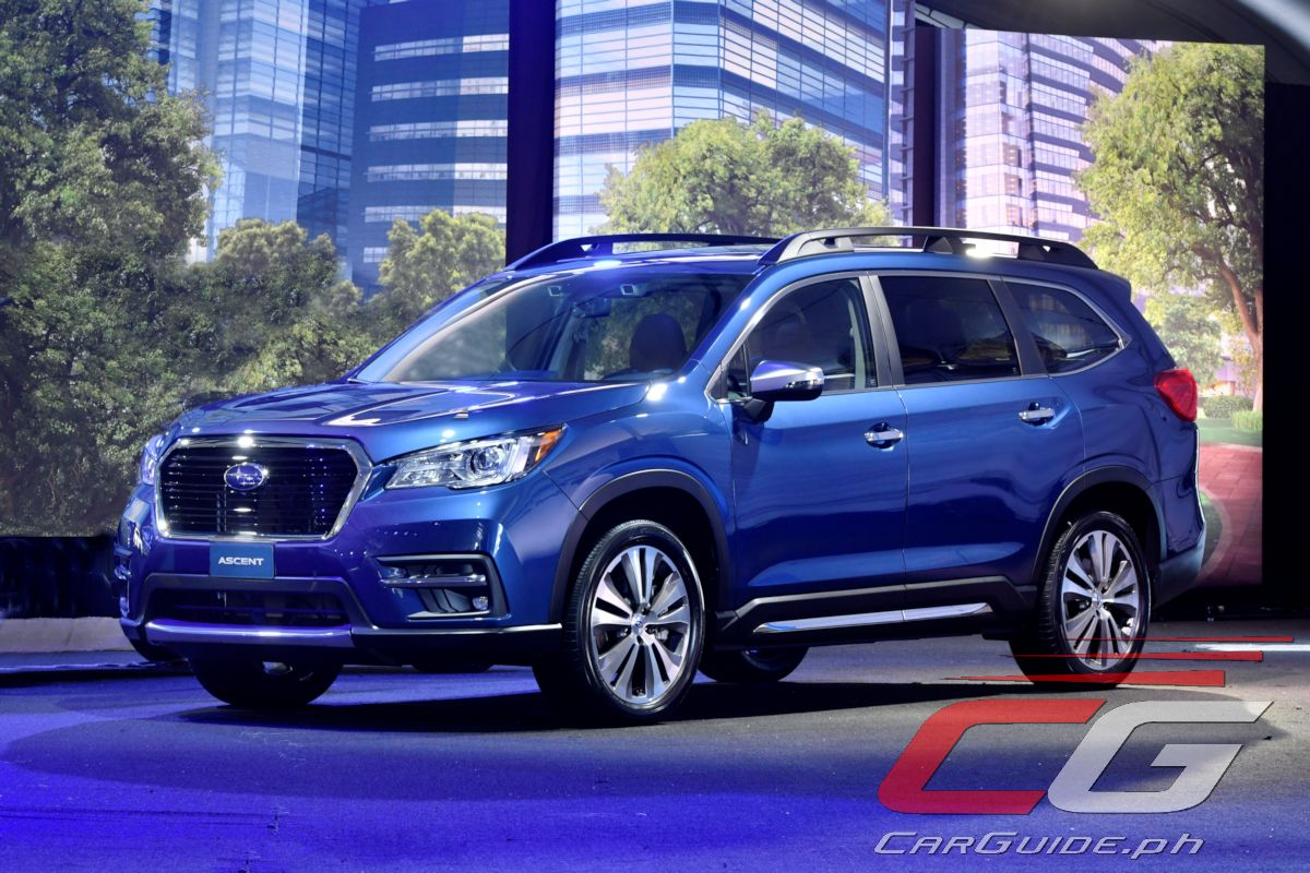 In A Bid To Increase Its Us Market Share Subaru Has Developed Three Row Suv Called The Ascent After Being Teased As Concept Last April Production