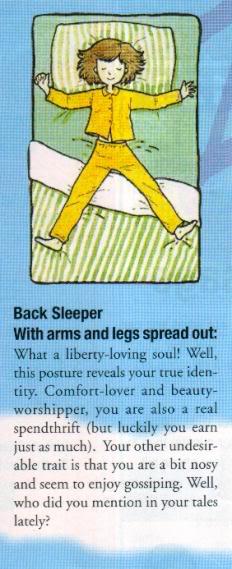 Melihat Sifat Seseorang Dilihat dari Posisi Tidur
