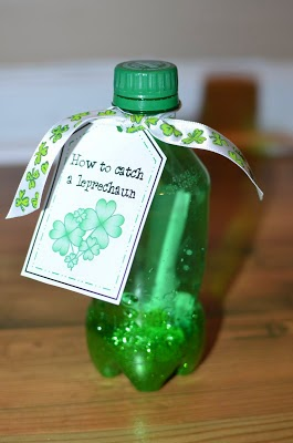 Leprechaun Bottle---Crockett's Classroom