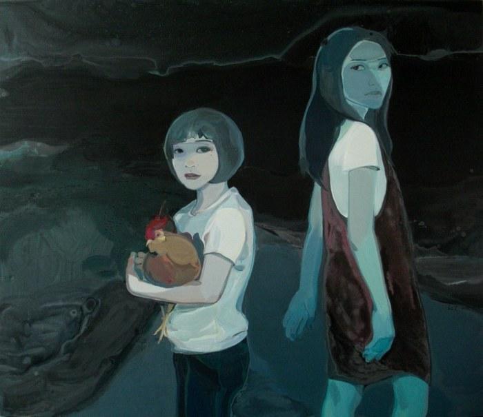 Масляная живопись. Liu Chenyang