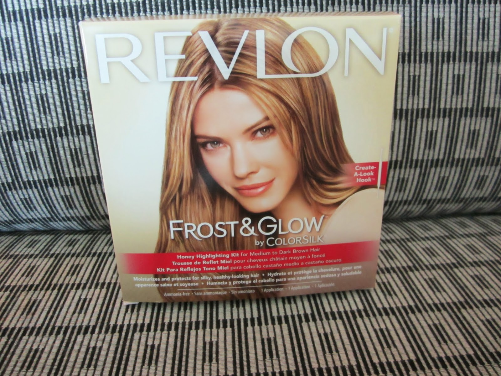 Revlon Frost Glow Honey Highlighting Kit Review On My Black Hair