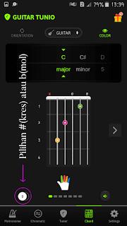 belajar chord gitar dengan aplikasi