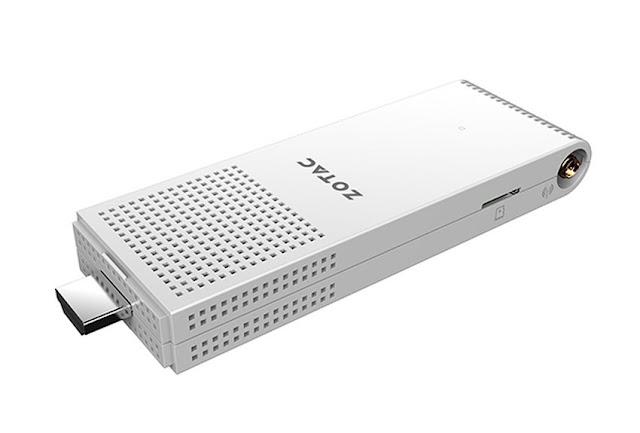 Zotac ZBOX PI220 PC Seukuran Flashdisk