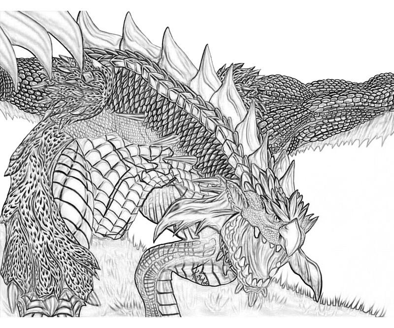 How To Draw Rathalos Free Download Oasis Dl Co