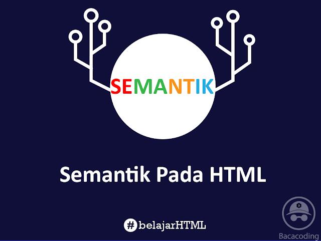Semantik Pada HTML