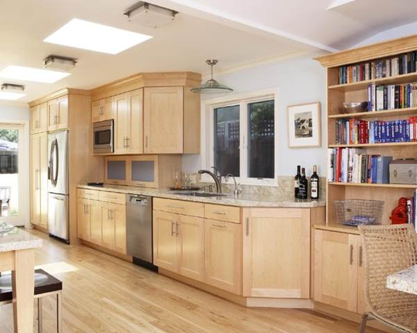KITCHENS with Light Maple CABINETS | Home Interior ... on Maple Cabinets With White Countertops  id=83427
