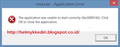 Memperbaiki Berbagai Kerusakan Error pada CMD