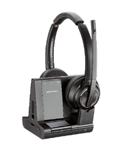 enterprise-grade Savi 8220 and Savi 8210 headsets are the first DECT™ headsets with Active Noise Cancelling