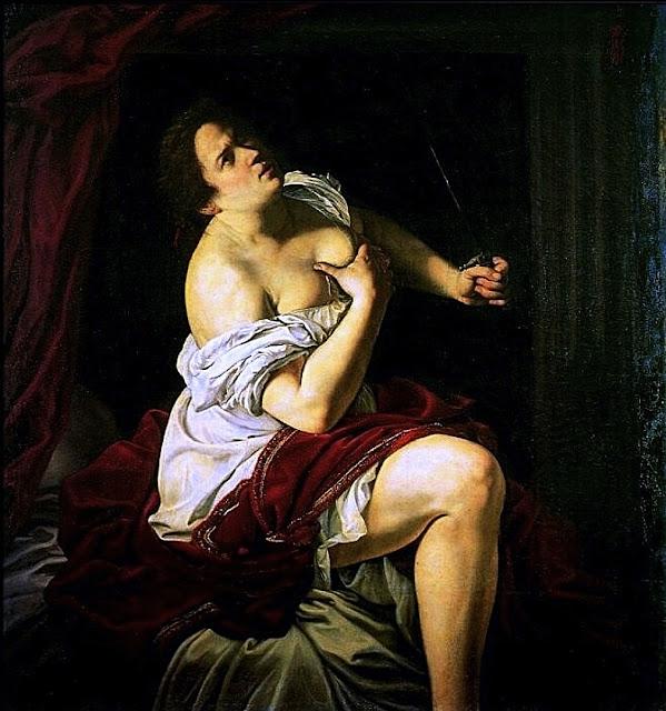 Artemisia Gentileschi: Lucrezia