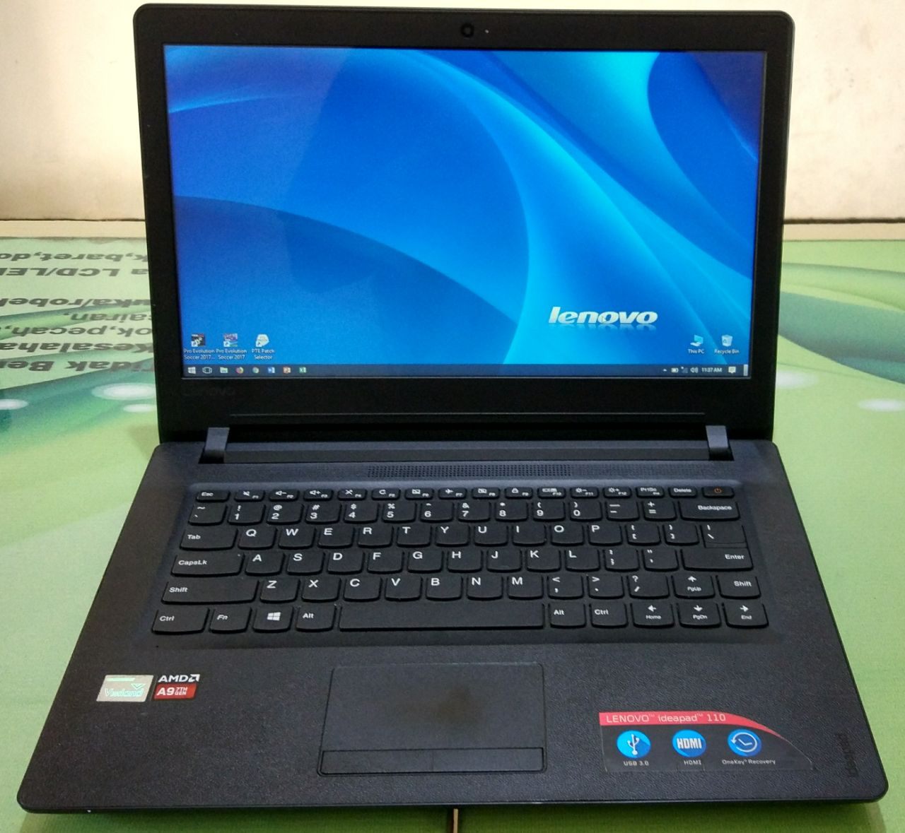 Lenovo 110 Amd A9 9400 4gb Ram Ddr4 1tb Hdd Daftar Harga Terkini Ideapad 05id 14ast Processor Quadcore Memory Dvdrw Harddisk Legaaa