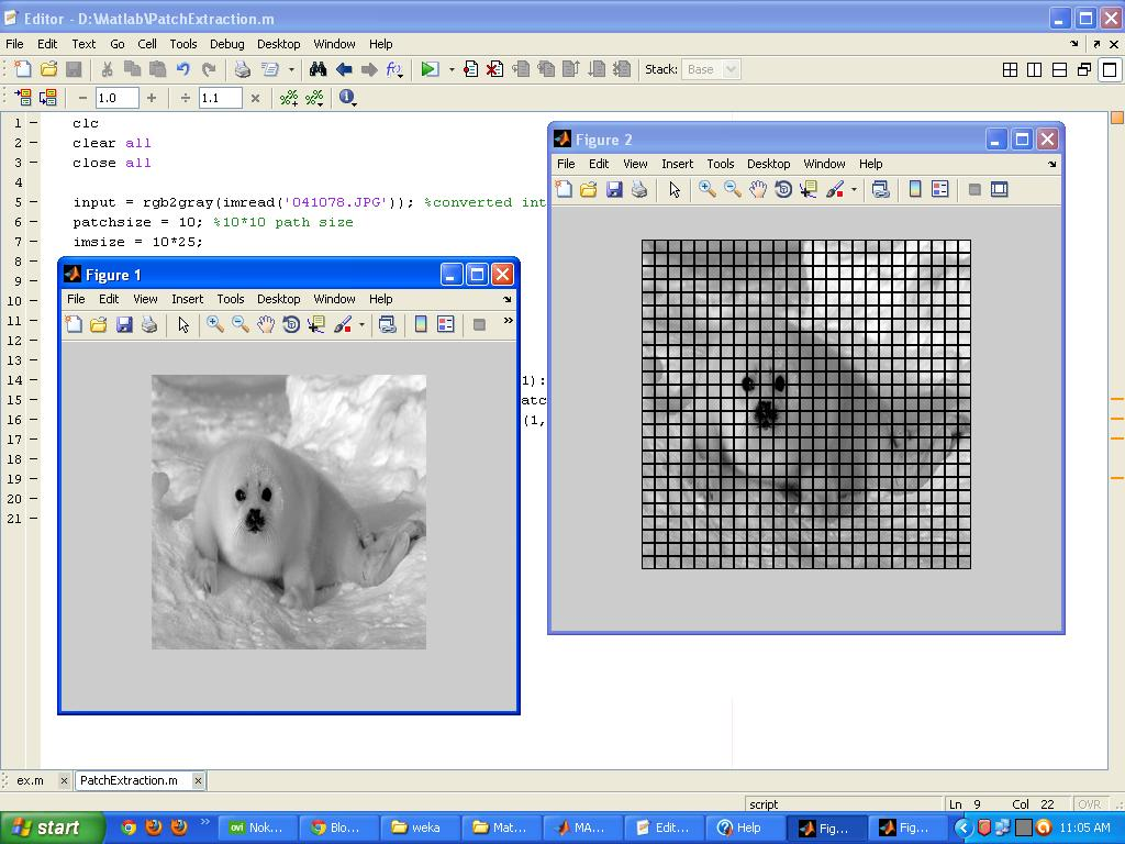 Programming Tips: Matlab Image Patch Extraction Code | Patch