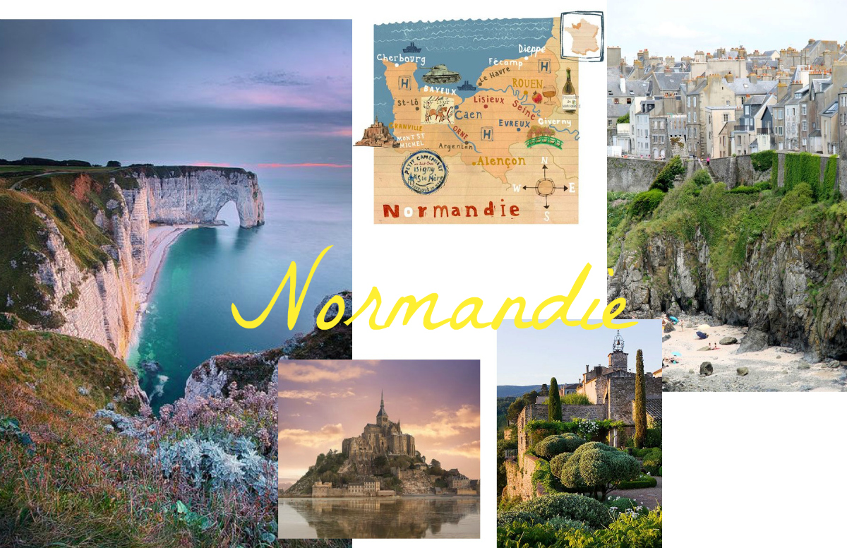 Travel Bucket List 6 places to see in 2017 Roadtrip Normandie www.theblondelion.com
