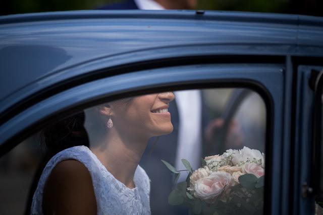 Fleuriste mariage Lyon, château de Saint Trys, flou sentimental