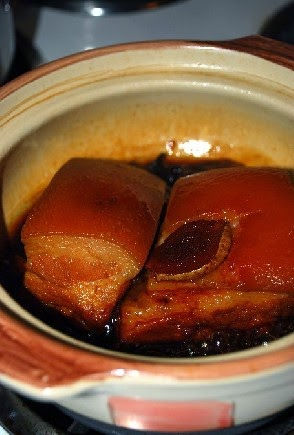 Chairman Mao's favourite dish of Dong Bo Pork