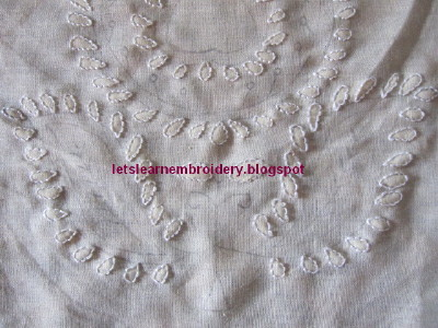 Lets Learn Embroidery Chikan Embroidery Part 1