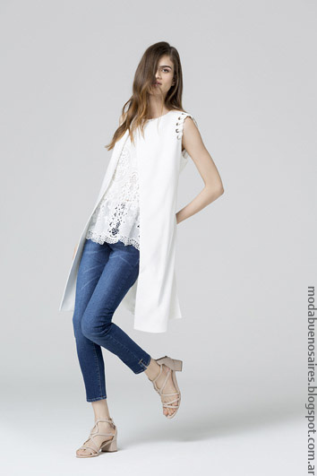 Looks tendencias primavera verano 2017 moda mujer verano 2017.
