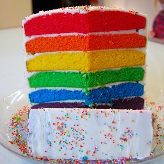 Rainbow Cake Thermomix Tm