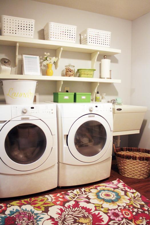 Iheart Organizing Basement Progress Laundry Land Linen
