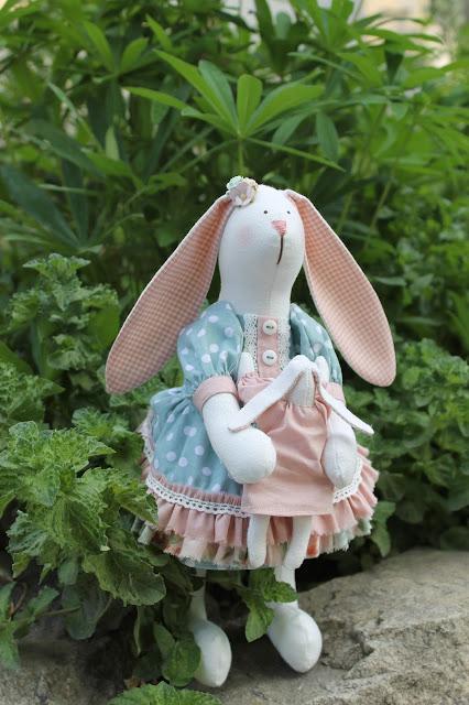 заяц, зайчик, зая, тильда заяц, тильда, игрушка, игрушка ручной работы, зайчиха, зайчиха с зайчонком, авторская игрушка, купить игрушку, тильда.