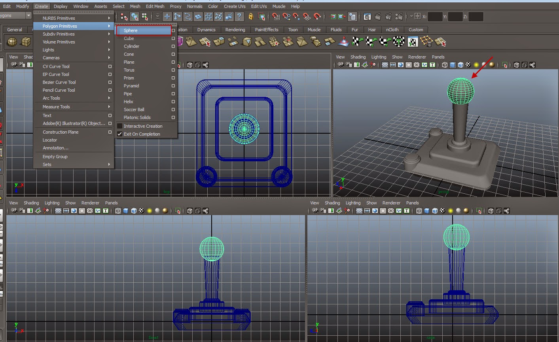 Joystick Modeling 025