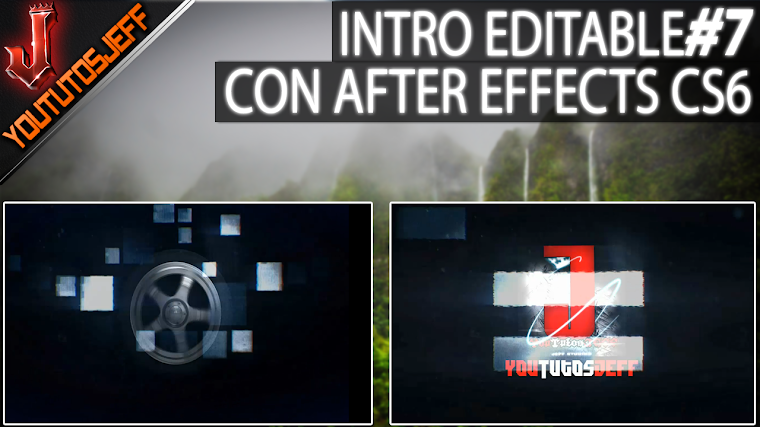 Intro Editable #7 con after effects CS6 | 2016