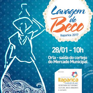 Itaparica: Lavagem do Beco 2017